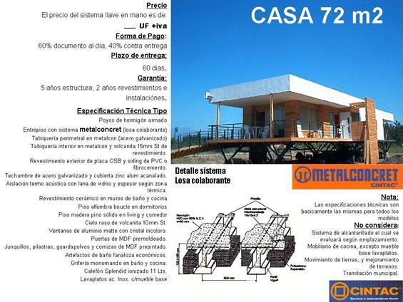 Casas modulares 72 mt2 coarq ltda - Casas modulares de acero ...